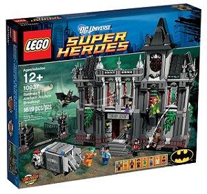 Lego Batman 10937 Arkhan Asylum Breakout 1619 PÇS
