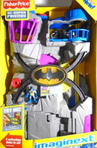 Batcave Imaginext Dc Super Friends Fisher-Price