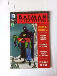 Batman Os Anos Perdidos Ed. Abril