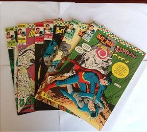 Batman e Super-Homem em Cores - Coleção Completa 6 Edições
