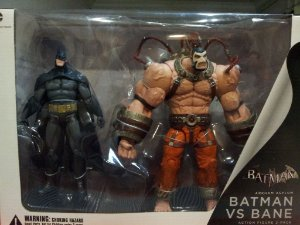 Batman Vs Bane Arkham Asylum