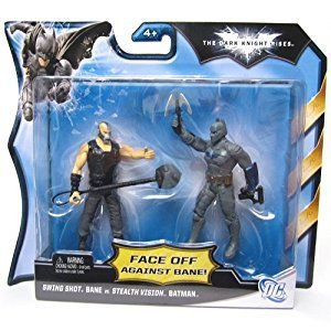 Mattel DC Batman TKR Face Off Against Bane