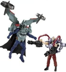 Mattel DC Batman Vs Bane TDKR Quick Tek Exclusivo Toys R us Raro