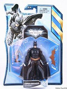 Dc TDKR Batman Caped Crusader Mattel