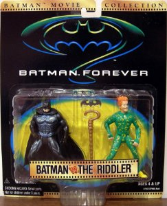 Movie Collection Batman Forever - Batman vs The Riddler Kenner