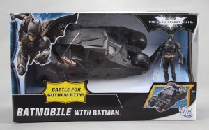 TDKR Batmobile Battle for Gotham Walmart Exclusives Tumbler Mattel