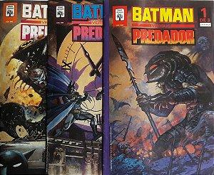 Batman Versus Predador Série 1 - 3 Edições
