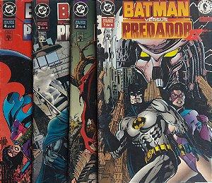 Batman Versus Predador Série 2 - 4 Edições