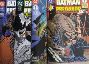 Batman Versus Predador Série 3 - 4 Edições