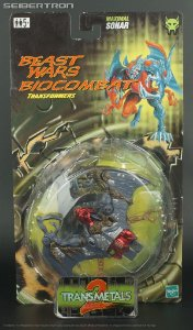 Transformers Biocombat Beast Wars Sonar Transmetals 2  Hasbro