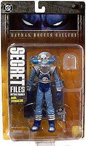Dc Direct Secret Files Batman Rogues Gallery Mr. Freeze (Senhor Frio)