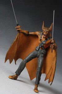DC Direct Batman And Son Action Figures Ninja Manbat