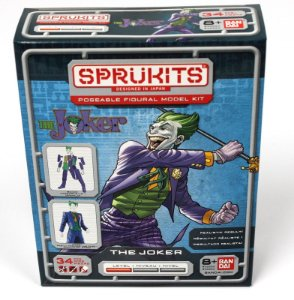 Bandai Sprukits Level 1 Model Kit Dc Batman The Joker (Coringa)