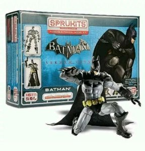 Bandai Sprukits Level 3 Model Kit Dc Batman Arkham City