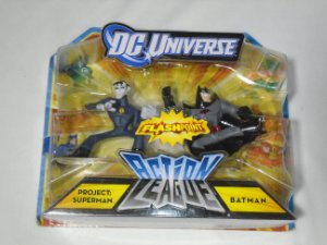 Dc Universe Action League Project: Superman And Batman Mattel