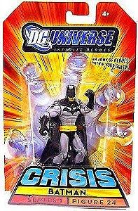 Dc universe Crisis Series 1 Batman Figure  24 Mattel