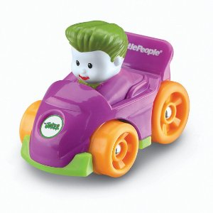 Fisher-Price Little People DC Super Friends Wheelies Joker
