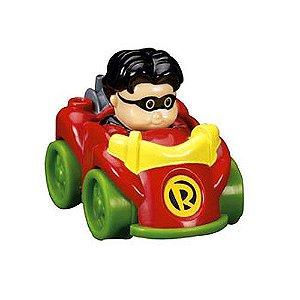Fisher-Price Little People DC Super Friends Wheelies Robin