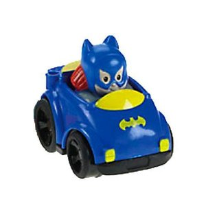 Fisher-Price Little People DC Super Friends Wheelies Batgirl