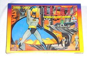 Estrela Quebra-Cabeça Batman Animated Invasão na Batcaverna 60 Peças 1994 Vintage