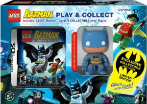 Jogo Nintendo DS Batman Lego + Funko Pop! Exclusivo Play & Collect