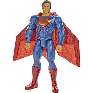 Mattel Dc BVS Superman Luzes e Sons