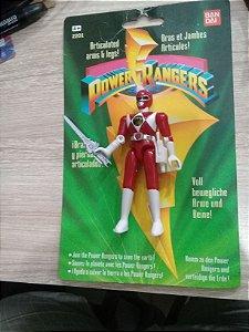 Power Rangers Vermelho Vintage