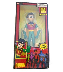 Bandai DC Teen Titans Go! Titan Leader Robin Figure