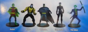 DC Justice League Collectible Figurines Box Set Pack com 05