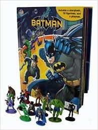 Phidal Storybook DC Batman My Busy Books + 12 Figuras e mini Playmat
