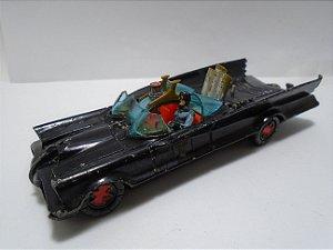 Corgi Toys DC Batmobile (batmóvel) Vintage Die Cast Metal Escala 1/43