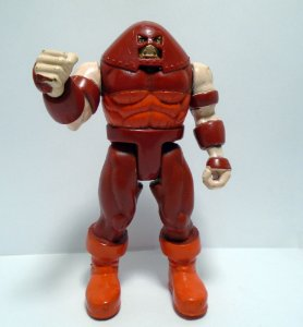 Toy Biz Marvel Juggernaut (Fanático) Power Punch Loose 1991