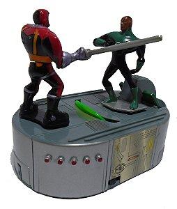 DC Mini Game JLU Lanterna Verde Jonh Stewart VS Caçador Cósmico