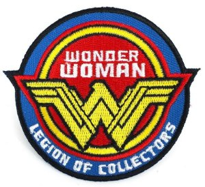 DC Patch Bordado Wonder Woman Legion of Collectors Souvenir