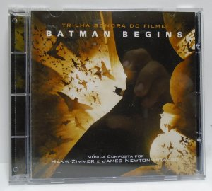 CD DC Batman Begins Trilha Sonora do Filme
