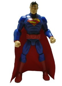 Mattel DC Total Heroes Superman (Super-Homem) Loose