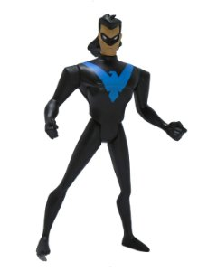 Mattel DC Batman Animated Nightwing (Asa Noturna) 2 Loose