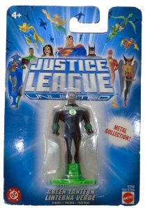 Mattel DC Liga da Justiça JLU Lanterna Verde John Stuart Metal Collection
