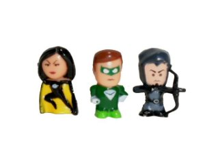 DC Forever Evil Chibis Merlyn Power Ring Superwoman 3 Pack