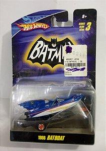 Hot Wheels Batboat 1966 - Batman Seriado 1/50