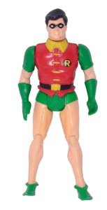 Mattel 1984 DC Super Powers Batman - Robin 1 Loose
