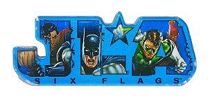 Six Flags 2011 DC Liga da Justiça Imã de Acrílico