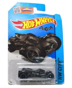 Hot Wheels DC Batman Arkhan Knight Batmóvel 1/64