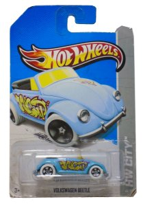 Hot Wheels Volkswagen Beetle (Fusca) 1/64