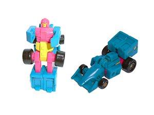 Hasbro Takara 1990 Transformers Micromasters  Patrol Barricade Vintage