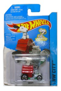 Hot Wheels Peanuts Snoopy  1/64