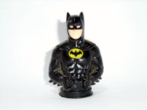 Topps DC 1989 Mini busto Batman Michael Keaton Candy Dispenser