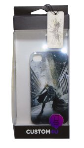 Capa Custom 4U Case Iphone 4 e 4S  DC Batman TDKR