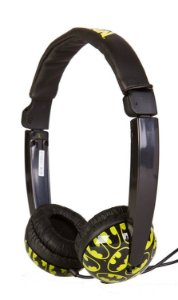 Sakar DC Batman Bravos e destemidos Volume Control Headphones Infantil