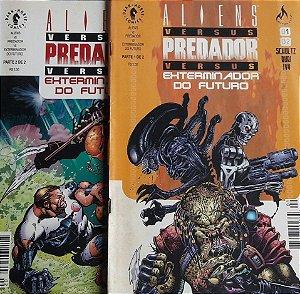 Aliens Vs Predador Vs Exterminador Do Futuro Ed. Mythos